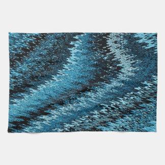 Snake Abstract Tea Towel