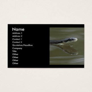 snake business card