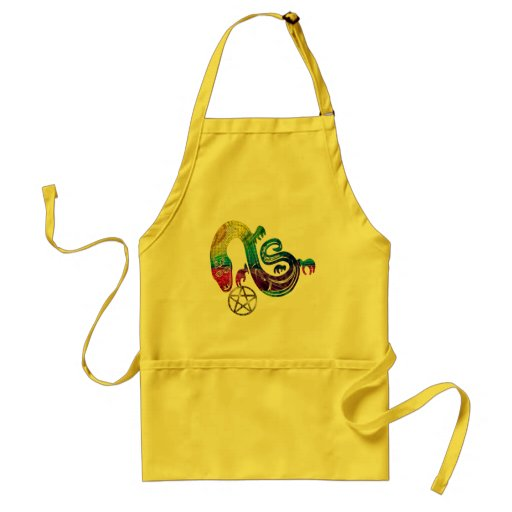 Snake Charming Witch Aprons