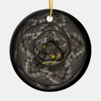 Snake Christmas Ornament
