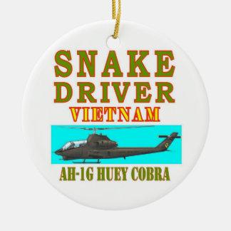 snAKE DRIVER VIETNAM Christmas Ornament