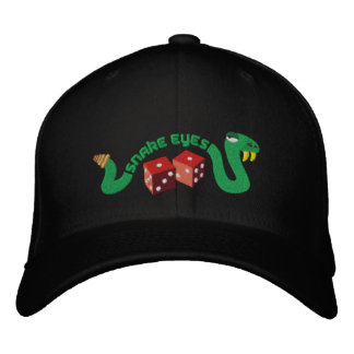 Snake Eyes Embroidered Cap