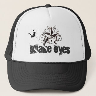 Snake Eyes Trucker Cap