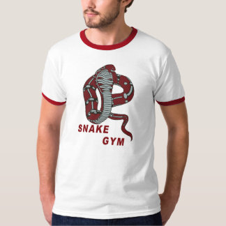 Snake Gym ringer T-Shirt