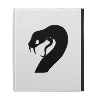 Snake Head iPad Folio Case