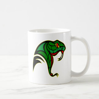 Snake Head Tattoo Coffee Mug