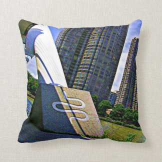 SNAKE Humber River Toronto TEMPLATE Resellers GIFT Throw Pillows