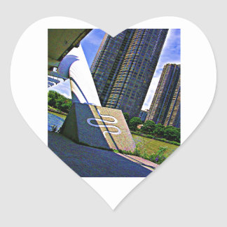 SNAKE Humber River Toronto TEMPLATE Resellers GIFT Heart Sticker