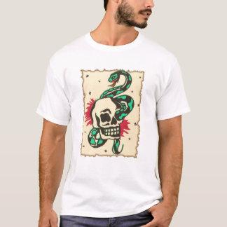 snake in the eye of the skull T-Shirt