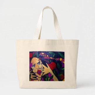 Snake in the Grass, Oh My God! Jumbo Tote Bag