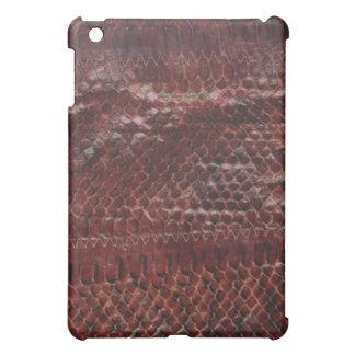 Snake Leather Print Hard Shell iPad Case