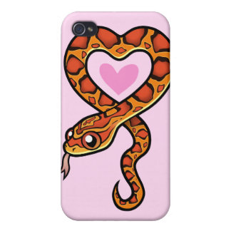 Snake Love iPhone 4/4S Case