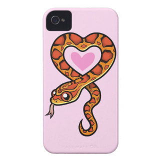 Snake Love iPhone 4 Case-Mate Case