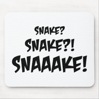 Snake? Mouse Pad