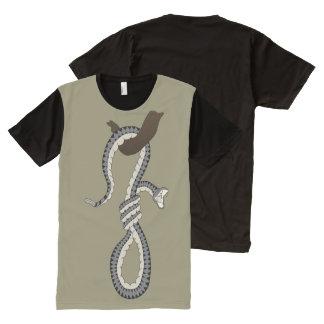 Snake Noose All-Over Print T-Shirt