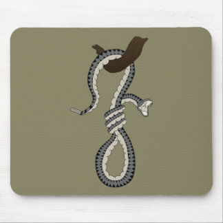 Snake Noose Mouse Pad