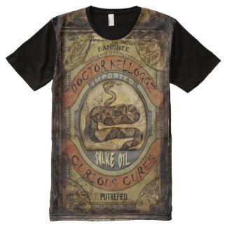 Snake Oil All-Over Print T-Shirt