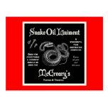 Snake Oil Liniment Postcard