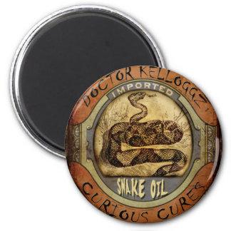 Snake Oil Fridge Magnet