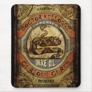 Snake Oil Mouse Pad