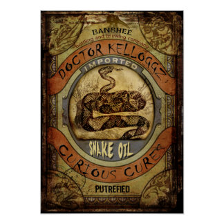 Snake Oil Poster