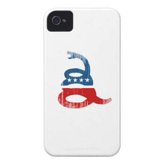 SNAKE PARTY Faded.png iPhone 4 Case-Mate Cases