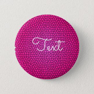 Snake Print Design Button