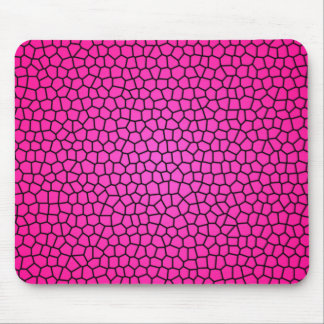 Snake Print Design Mouse Pad