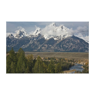 Snake River Viewpoint Canvas Print