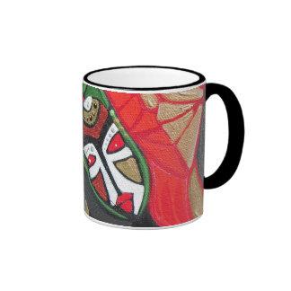 Snake Shaman Ringer Coffee Mug