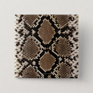 Snake Skin 15 Cm Square Badge