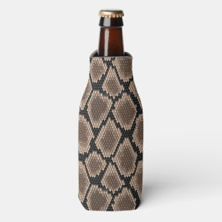 Snake skin bottle cooler