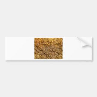 Snake Skin Bumper Sticker