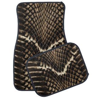 Snake Skin Car Mats Floor Mat