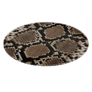 Snake Skin Cutting Board