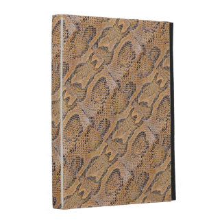 SNAKE SKIN DESIGN CASEABLE iPAD FOLIO iPad Case
