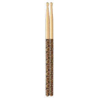 Snake skin drumsticks
