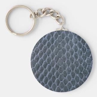 snake skin keychain
