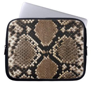 Snake Skin Laptop Sleeve