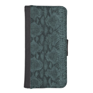 Snake Skin Leather iPhone SE/5/5s Wallet Case