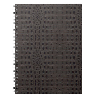 Snake Skin Leather Notebook 3a -