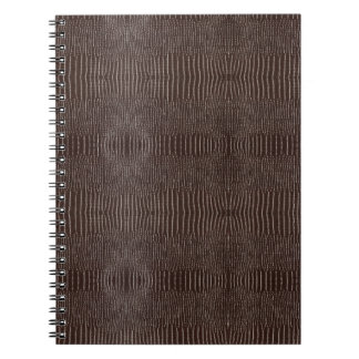 Snake Skin Leather Notebook 3c -