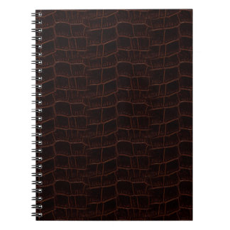 Snake Skin Leather Notebook 4b -
