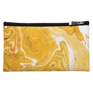 Snake Skin Marble Makeup Bag
