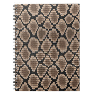 Snake skin notebooks