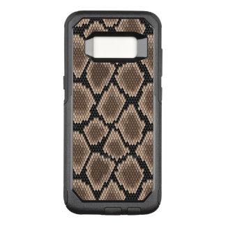 Snake skin OtterBox commuter samsung galaxy s8 case