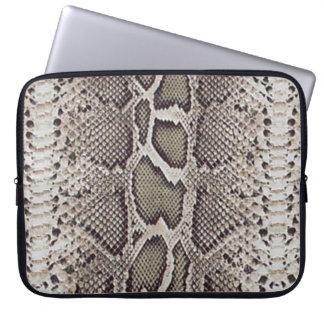 Snake Skin Pattern Computer Sleeve