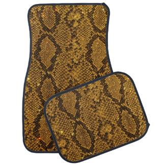 Snake Skin Pattern Print Floor Mat