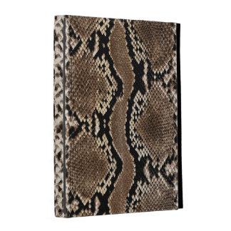 Snake Skin Print iPad Folio case