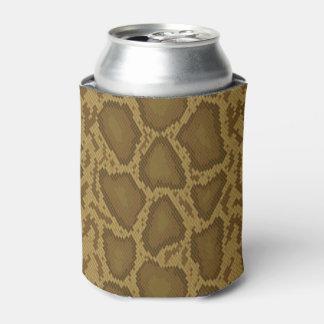 Snake skin, reptile pattern can cooler